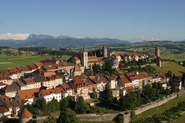 Romont, cité médiévale