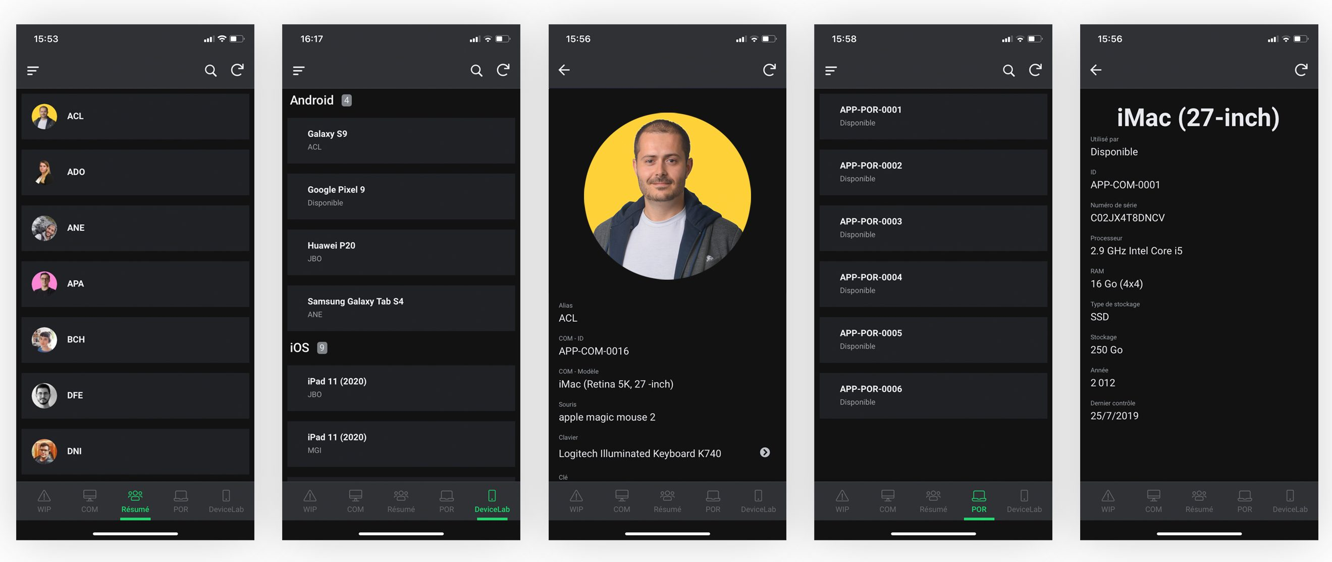 application d'inventaire en no-code - demo appsheet par amaury