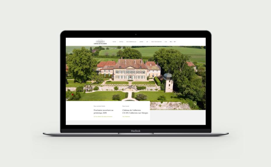 Site Internet du Château de Vullierens